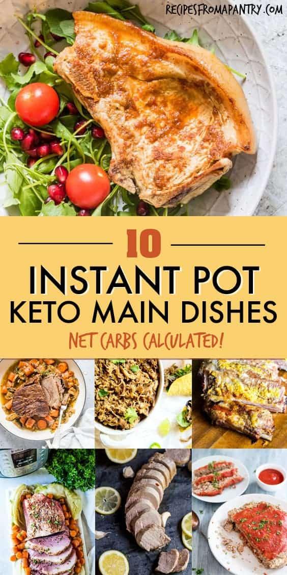 KETO INSTANT POT MAIN DISHES