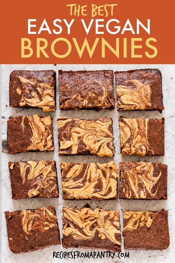 easy vegan brownies