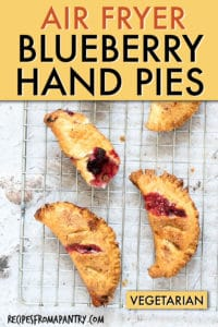 Air Fryer Blueberry Hand Pies