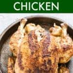 KETO INSTANT POT WHOLE CHICKEN