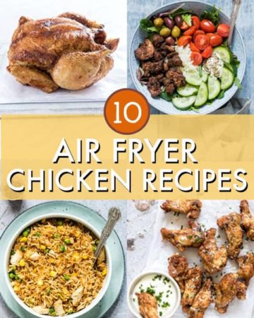 air fried chicken recipes