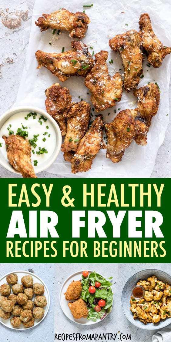 EASY & HEALTHY AIR FRYER FOR BEGINNERS