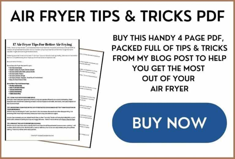 air fryer tips and tricks sales blog image