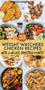 33 WEIGHT WATCHERS CHICKEN RECIPES