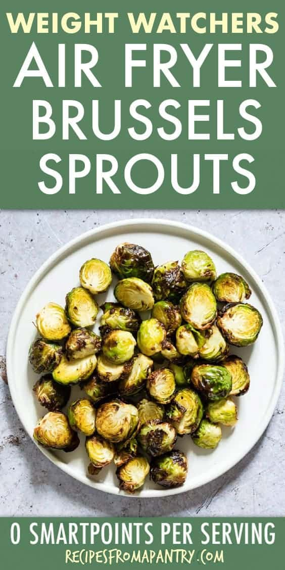WEIGHT WATCHERS AIR FRYER BRUSSELS SPROUTS