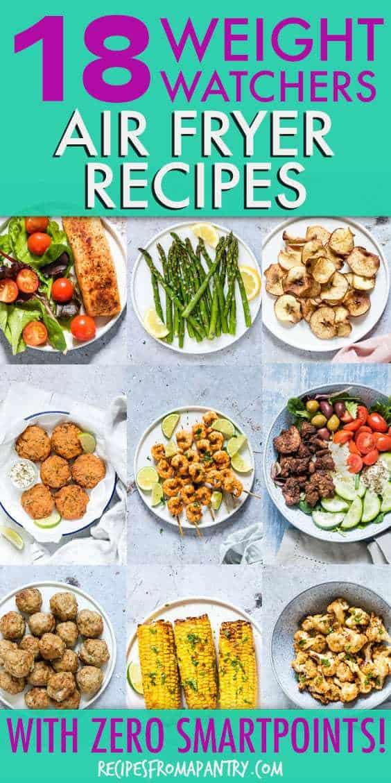 weight watchers air fryer recipes