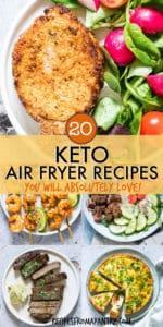20 air fryer keto recipes