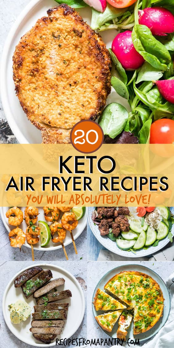 20 air fryer keto recipes