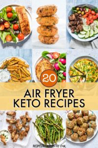 20 KETO AIR FRYER RECIPES