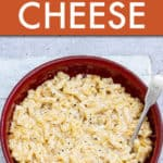 air fryer mac and cheese