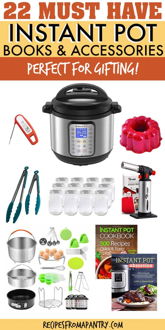 22 must have instant pot books and accessories