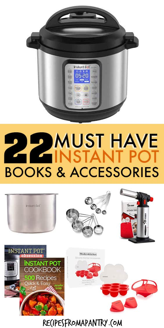 22 must have instant pot accessories