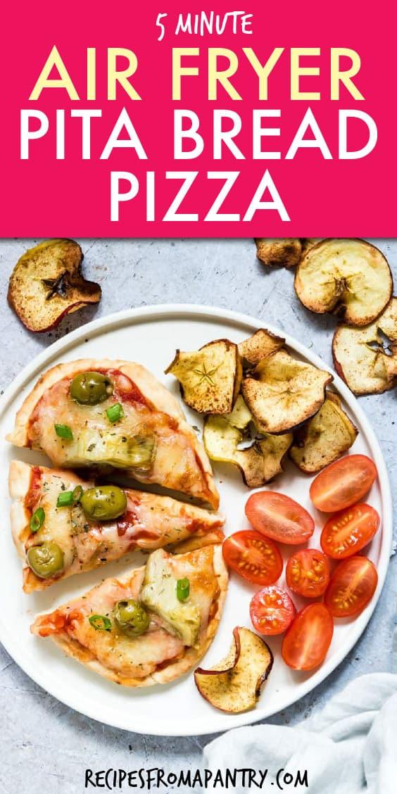 AIR FRYER PITA BREAD PIZZA