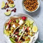 Crispy Chickpea Tacos Air Fryer + Oven Version {Vegan, Gluten-free}