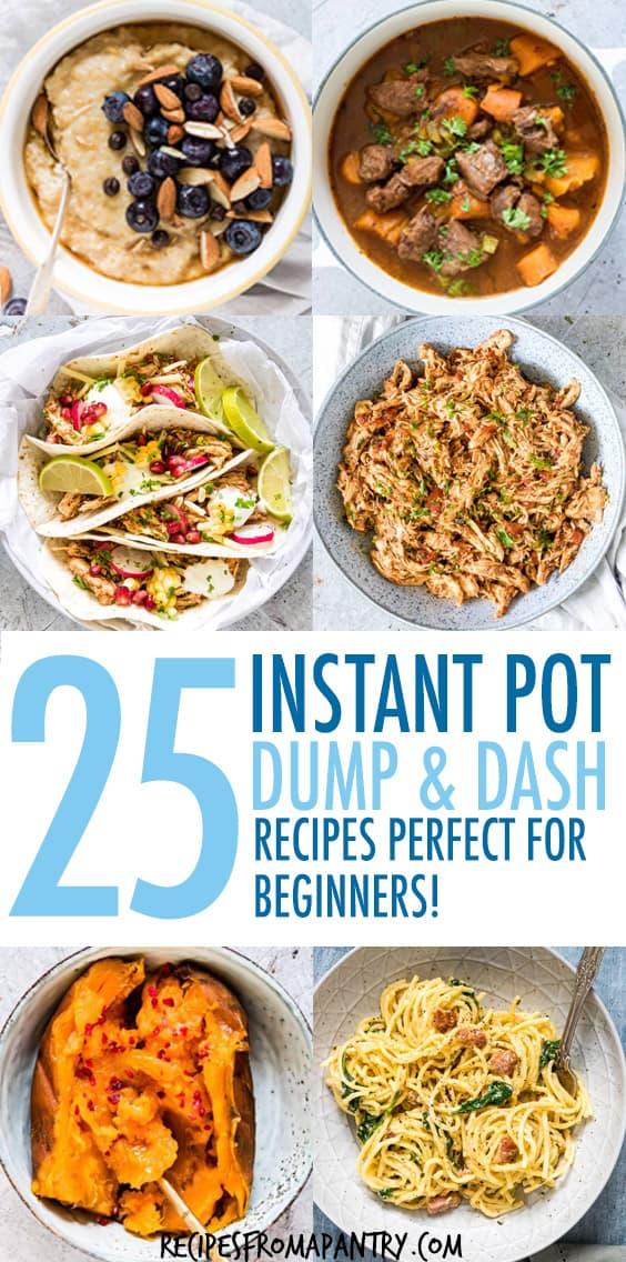 Instant Pot Dump & Dash Recipes