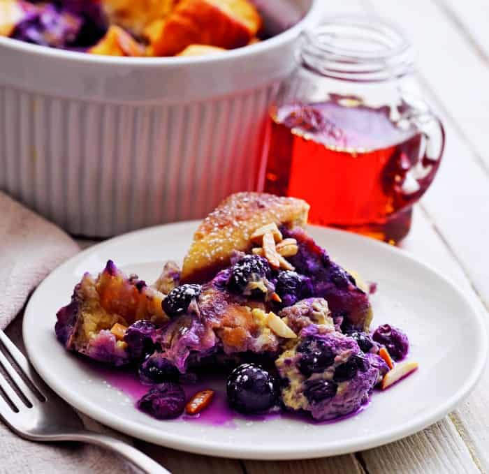 Instant Pot Blueberry French Toast Casserole Recipe