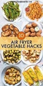 AMAZING AIR FRYER VEGETABLE RECIPES