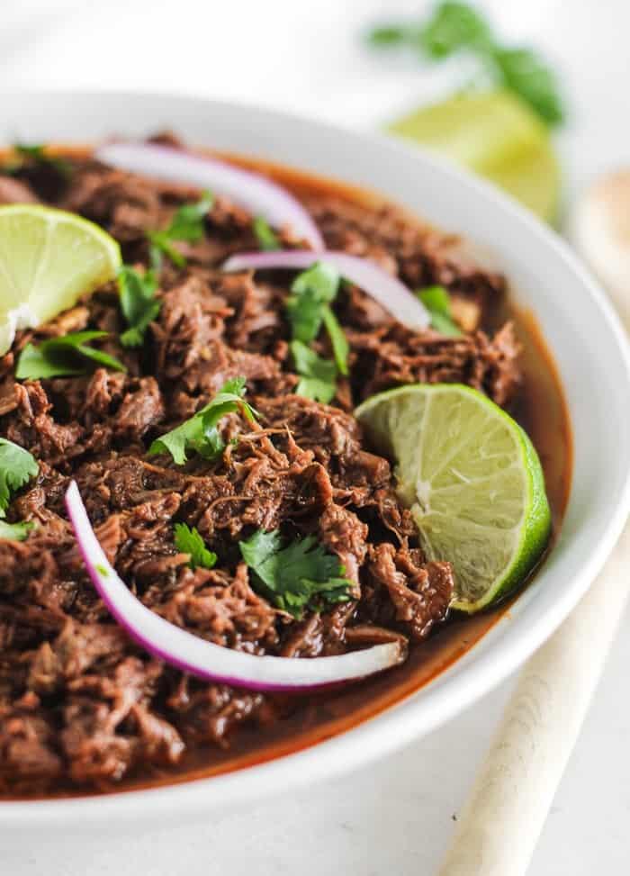 Easy Instant Pot Barbacoa Beef