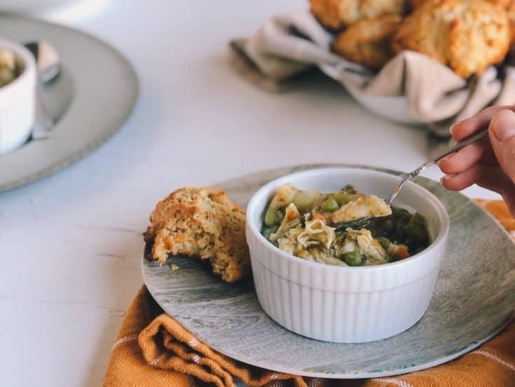Vegetable & Chicken Stew Pressure Cooker Recipe