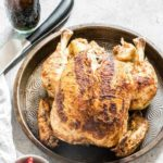 Learn how to EASILY cook a whole chicken in the Instant Pot in less than 45 mins. This is a simple and easy-to-follow Instant Pot recipe that can be modified to suit your needs. Paleo, Keto, and Whole 30 diet friendly. #instantpot #instantpotrecipes #instantpotwholechicken #pressurecookerwholechicken