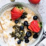 Quinoa Porridge with Berries {Gluten-Free}
