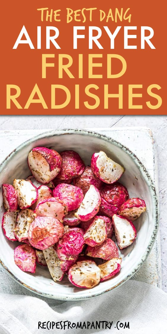 Air Fryer Fried Radishes