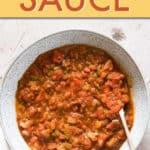 Easy Creole Sauce