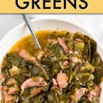 Dump and Start Instant Pot Collard Greens