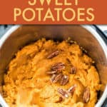 INSTANT JKPOT MASHED SWEET POTATOES