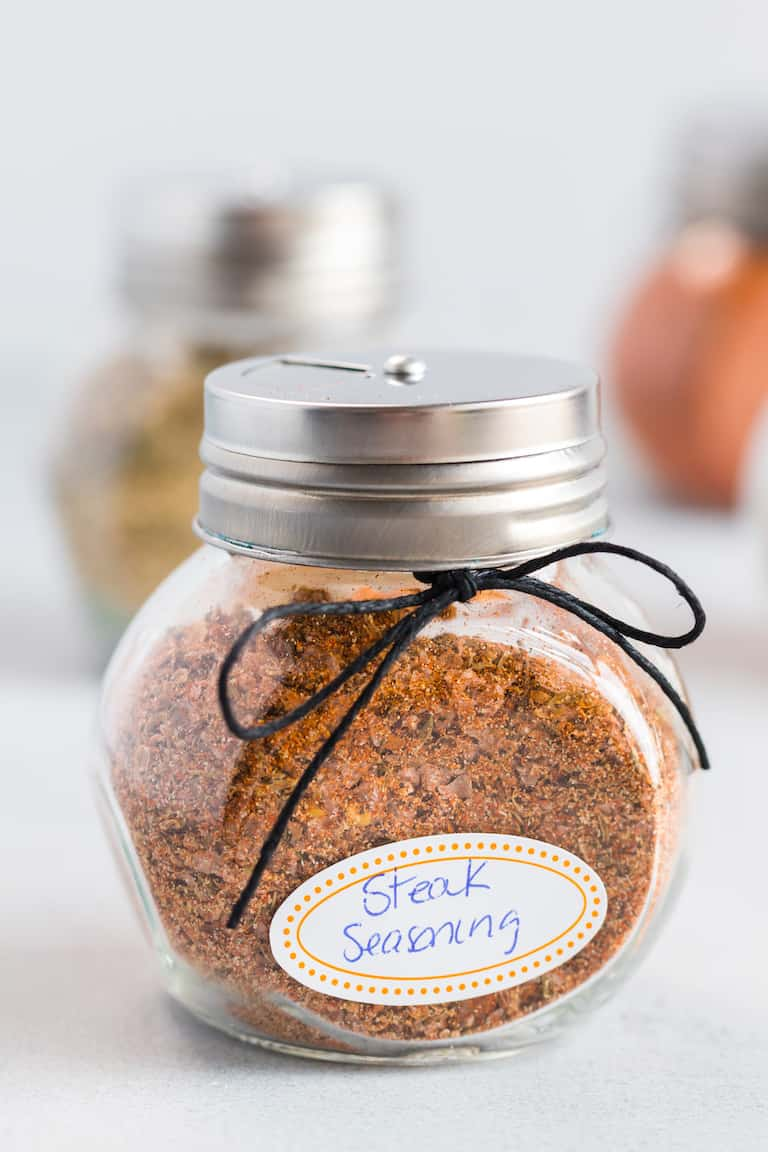 steak seasoning packaged as an edible gift