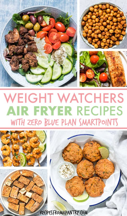 Zero Blue Plan Smartpoints Weight Watchers Air Fryer Recipes