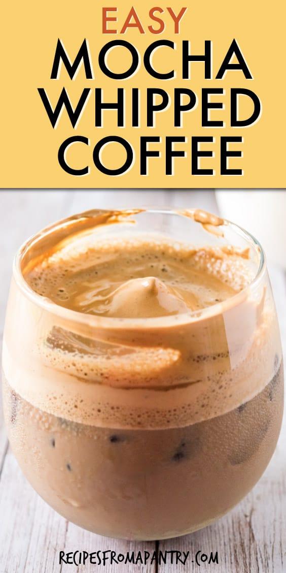 easy mocha whipped coffee