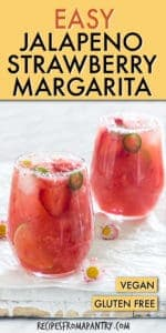 EASY JALAPENO STRAWBERRY MARGARITA