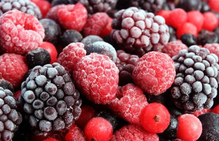 frozen berries ready to stock your freezer