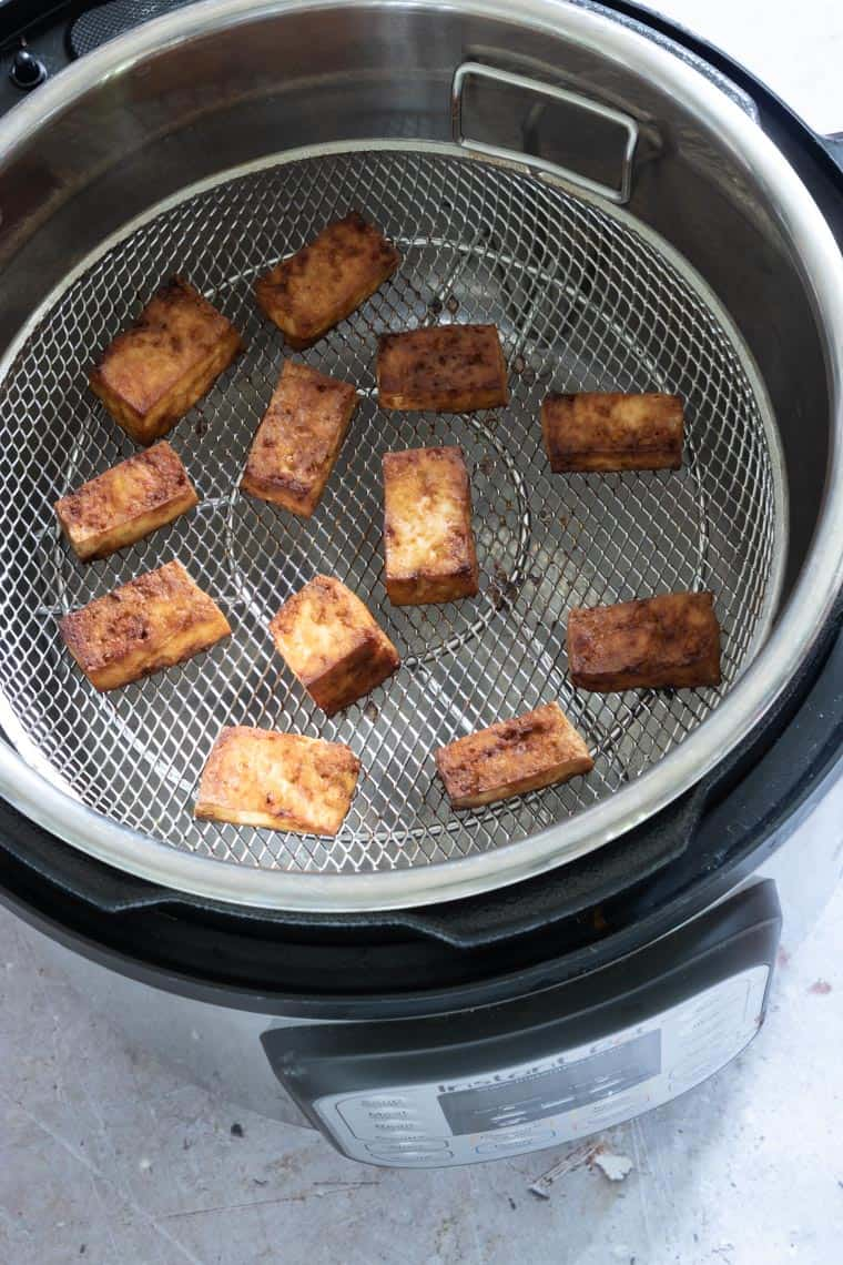 air fryer tofu made in the instant pot