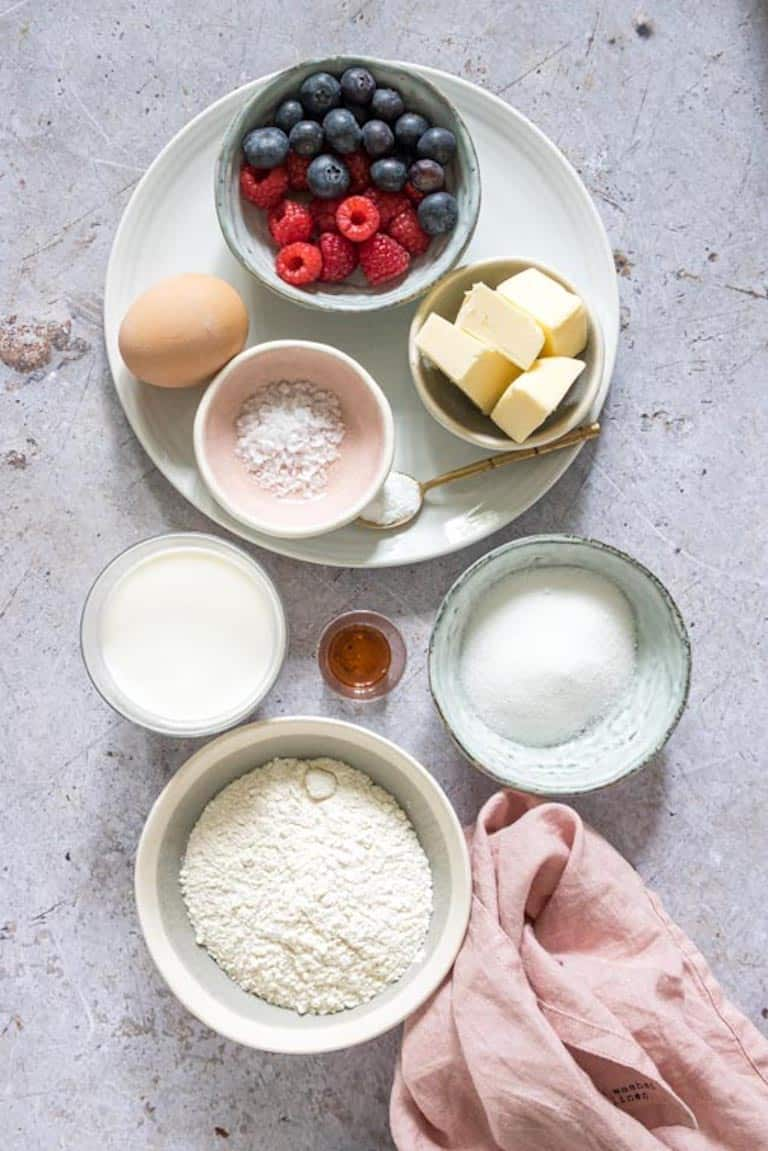 the ingredients needed for making instant pot breakfast bites