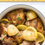 MEDITERRANEAN INSTANT POT CHICKEN AND POTATOES
