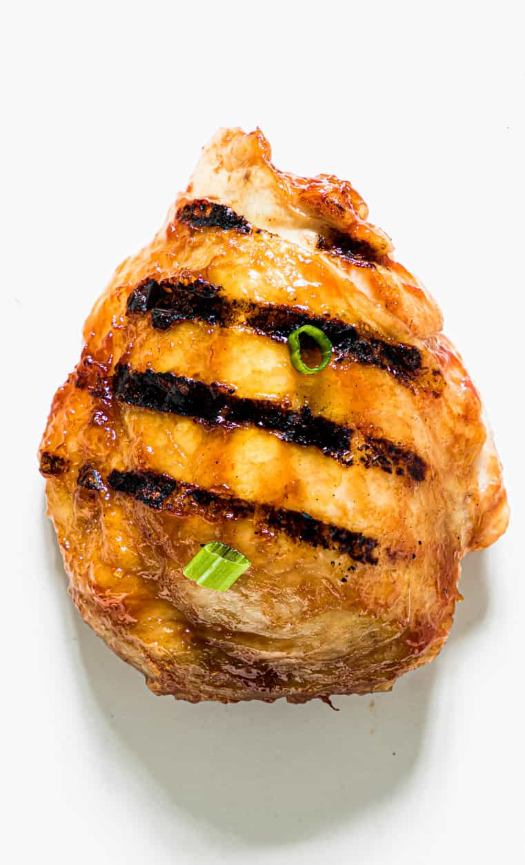 a single grilled chicken breast