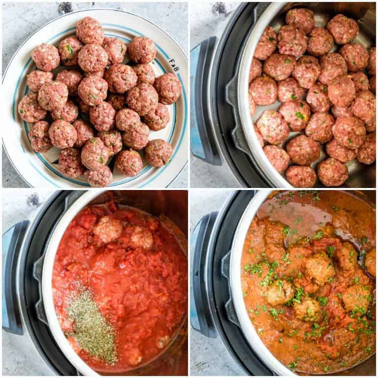 How To Make Instant Pot Meatballs