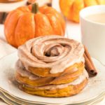 Air Fryer Pumpkin Spiced Crullers