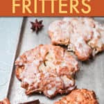 APPLE FRITTERS ON A PAN