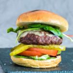 Juicy Air Fryer Hamburgers + Grill Version & Video {Gluten-free}