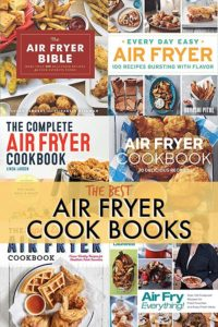 THE BEST AIR FRYER COOK BOOKS