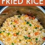 INSTANT POT HIBACHI FRIED RICE