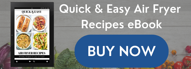 Quick and Easy Air Fryer Recipes Ebook Sales Graphic