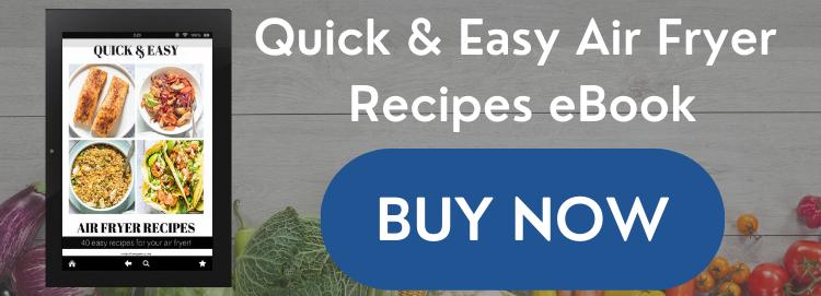 Schnelle und einfache Air Fryer Rezepte Ebook Sales Graphic