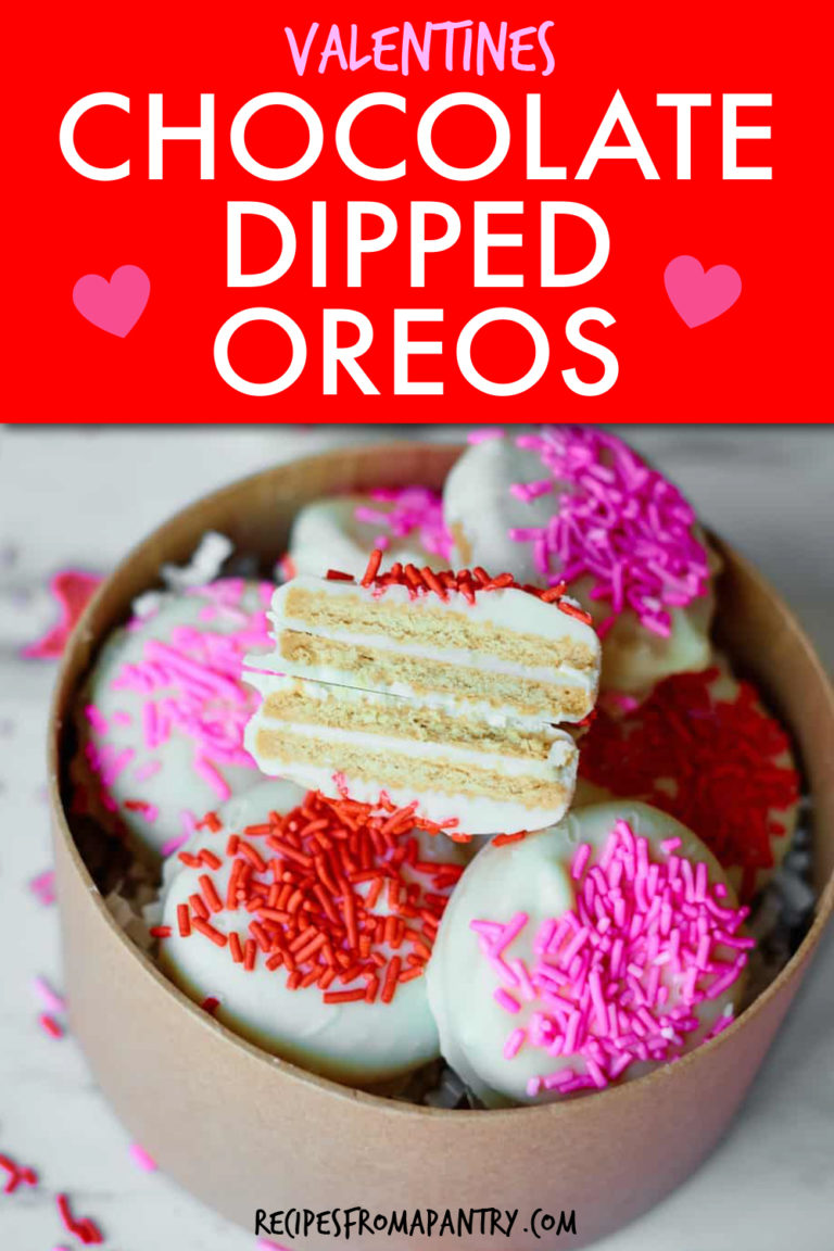 WHITE CHOCOLATE COVERED OREOS IN A GIFT BOX