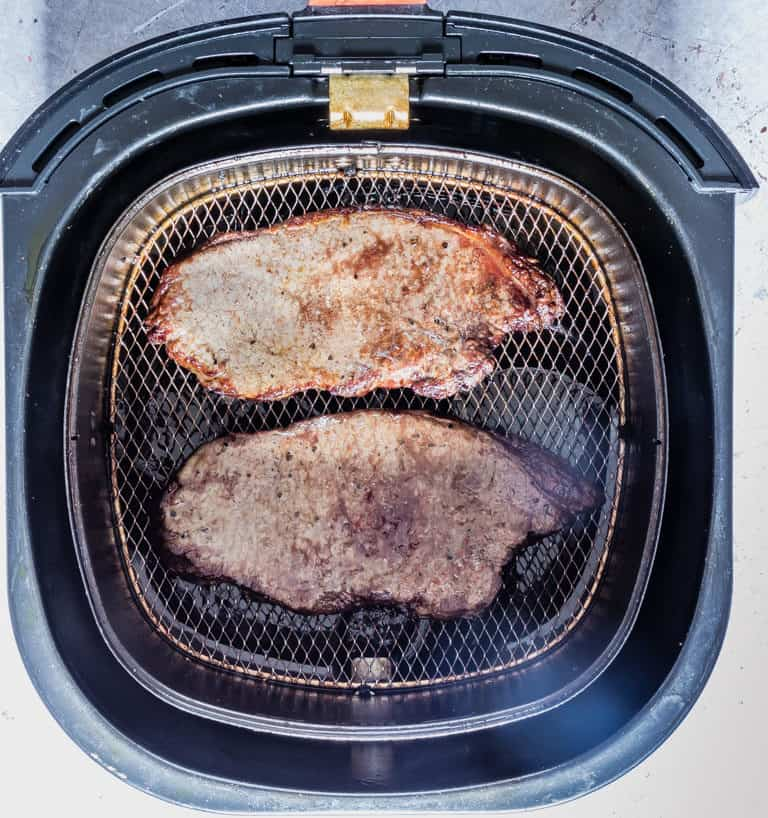 air fryer steak in the air fryer