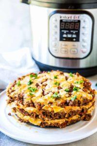 Instant Pot Lasagna + Tutorial