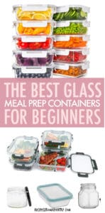 the best glass meal prep containers for beginners